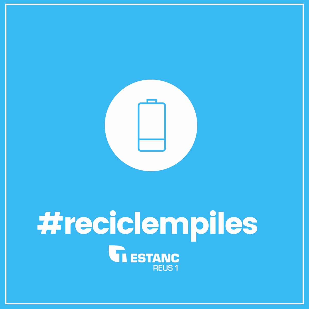 Reciclem piles