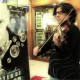 Xavi Macaya col.laborant amb la campanya de promoció loteria de Nadal